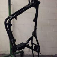 harley-motorcycle-frame-powder-coated-western-mass-powder-coating